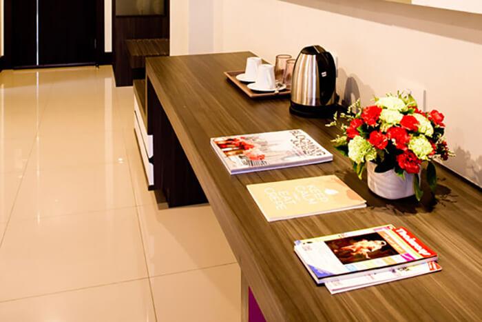 Crystal Suites Suvarnabhumi Airport: Crystal Suite